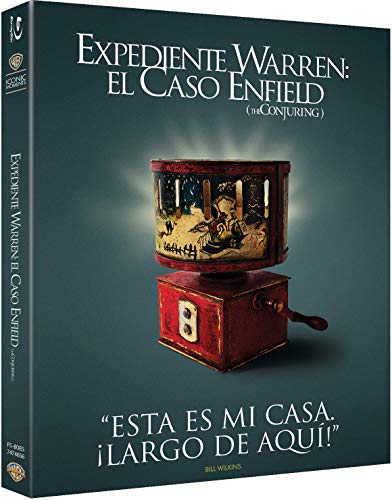 Expediente Warren: El Caso Enfield (The Conjuring) Blu-Ray - Iconic [Blu-ray]