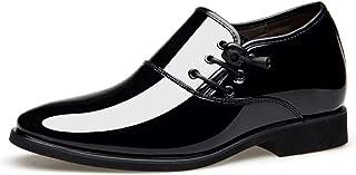 [aemax] 革靴 エナメル革 メンズ ビジネスシューズ 紳士靴 カジュアルシューズ メンズシューズ オールシーズン 軽量 クッション性 就活 通勤50