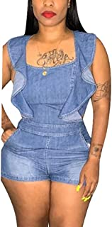 Women's Casual Distressed Ripped Denim Jean Midi Bodycon Skirt Plus Size