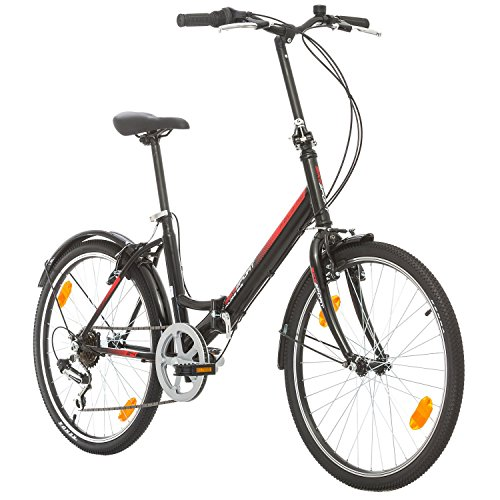 BIKE SPORT LIVE ACTIVE Bikesport Folding Bicicleta Plegable Ruedas de 24