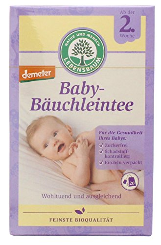 Lebensbaum - Baby-Bäuchleintee Bio - 20Bt./30g