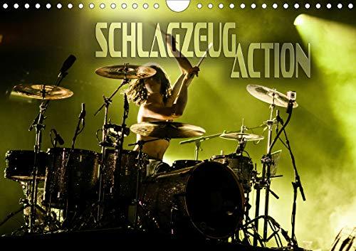 Schlagzeug Action (Wandkalender 2021 DIN A4 quer)