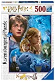 Ravensburger- Harry Potter a Hogwarts Puzzle 500 Pezzi, Multicolore, 14821