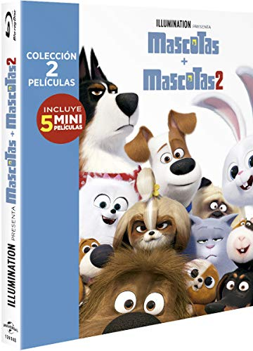 Pack: Mascotas 1+2 (BD) [Blu-ray]