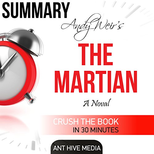 Andy Weir's The Martian Summary & Review audiobook cover art