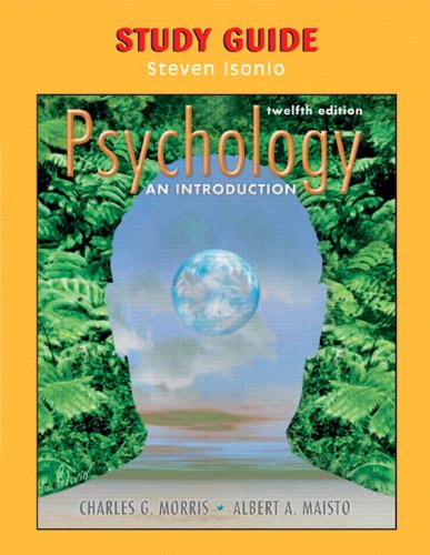 Study Guide to Psychology: An Introduction, 12/e