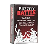 Buzzed Battle - The Hilarious Team Party Game That Will Get You & Your Friends Hydrated