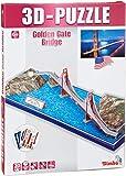 Simba 106137368 - Puzzle 3D Puente Golden Gate [Importado de Alemania]