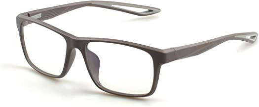 Blue Light Blocking Glasses Square Computer Eyewear TR Frame Clear Lens- Relieve Headaches and Dry eyes