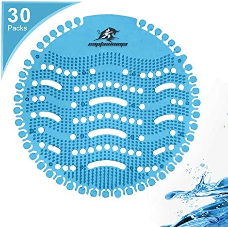 Captain Ninja Urinal Screen Deodorizer 30 Pack Scent Lasts for Up to 30 Days Anti Splash Ideal product image