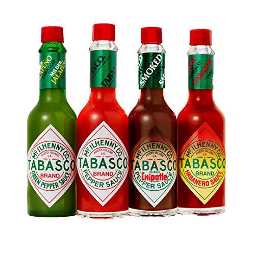 Tabasco Salsa - Juego de 4 sabores (60ml) - En caja