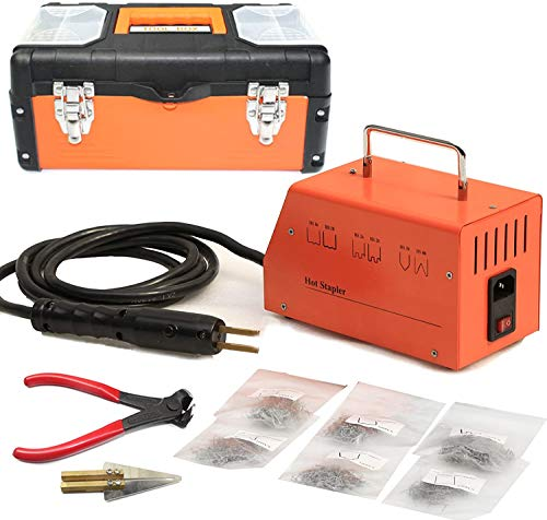 BELEY 110V Car Bumper Repair Plastic Welder Kit with 1200pcs Plastic Staples