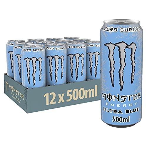 Monster Ultra Blue 12x500ML Inkl.3€ Pfand