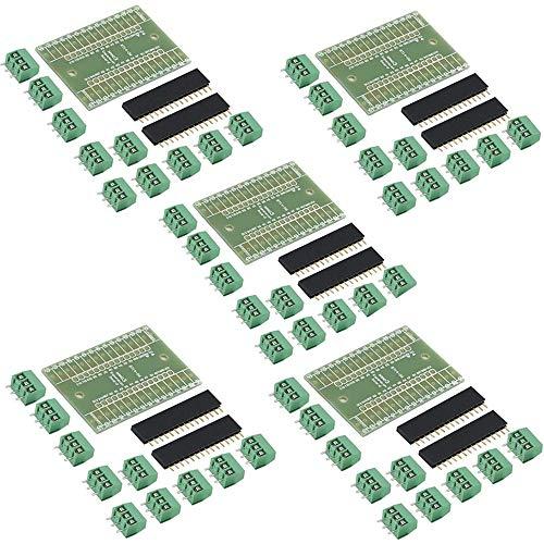 JKGHK 5pcs Nano IO Shield DIY Nano IO Expansion Board DIY Kits Nano