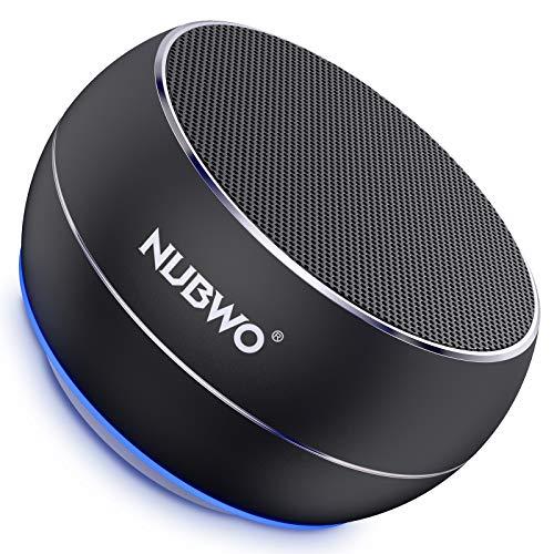 NUBWO Portable Bluetooth Speaker with Enhanced Bass, Wireless Speaker