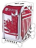ZUCA Maple Leaf 89055900438 - Bolsa deportiva (blanco y rojo)