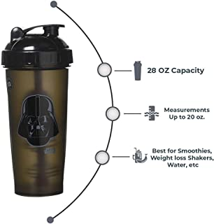 PerfectShaker Performa - Star Wars Series, Best Leak Free Bottle with Actionrod Mixing Technology for Your Sports & Fitness Needs! Dishwasher and Shatter Proof(28oz)