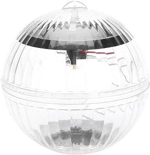 Ymiko Solar floating Pool Lights vattentätt dammljus med 7 färgskiftande solenergidriven flytande LED glob LED-lampa för t...