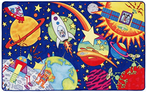 Lovely Kids Tapis, Polyester, Multicolore