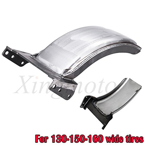"""NBX- 7.5'' Wide 23"""" WHEEL REAR FENDER STRUTLESS For Compatible with HARLEY SOFTAIL FRAMES"""