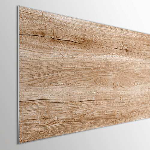 MEGADECOR DECORATE YOUR HOME Cabecero Cama PVC Decorativo Económico PVC 5mm. Modelo Angoon (150x60cm, Marrón)