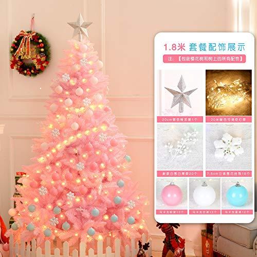 Hao-zhuokun Feliz Navidad cifrado árbol de Navidad Decorado de Navidad 1.2/1.5 m...