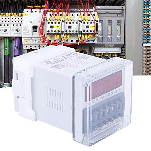 CENPEN Tiempo de retardo del relé, de Alta precisión de Tiempo LCD del Equipo Controlador de Motor CW/CCW Tipo de Temporizador 0.1S-99H 12V AC/DC