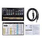 Muslady KORG Volca fm Tragbare digitale FM-Synthesizer mit MIDI In/Out Klinken-Synchronisation 3,5...