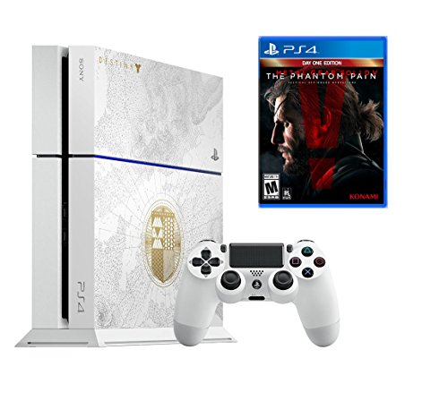 PlayStation 4 500GB Console - Destiny The Taken King with Metal Gear Solid V