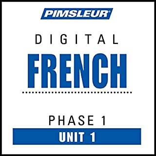 French Phase 1, Unit 01 audiobook cover art