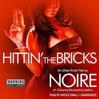 Hittin' the Bricks audiobook cover art