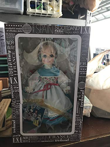 1983 - Effanbee Doll Corp - Item #1104 - International Series - Holland 11 inch Vinyl Doll - Traditional Dress - OOP - Like New - Rare - Collectible