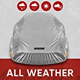 Motor Trend SafeKeeper All Weather Car Cover - Advanced Protection Formula - Waterproof 6-Layer for Outdoor Use, for Sedans Up to 170' L (OC-642N)