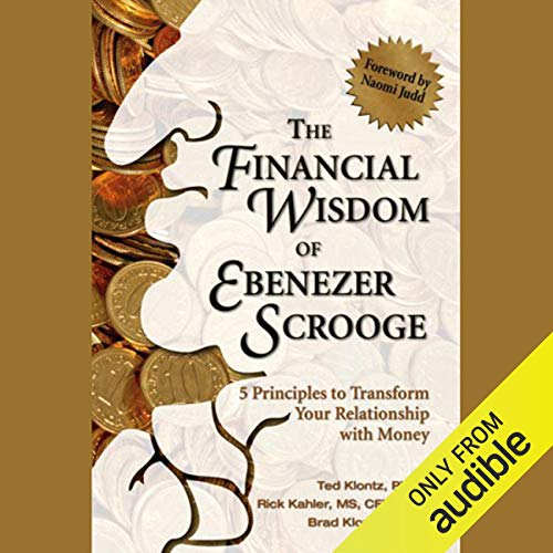 The Financial Wisdom of Ebenezer Scrooge audiobook cover art