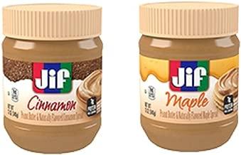 Jif Flavored Peanut Butter Pack - Cinnamon & Maple