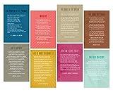 Focus and Zeal Poster mit englischem Literatur-Zitat für