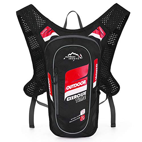 Lixada 5L Hydration Pack Backpack Super Lightweight Breathable Hydration Vest For Outdoors Running Cycling Climbing