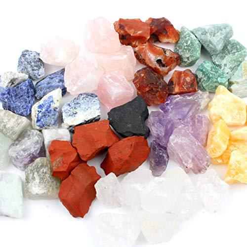 Aqua Lapis Große Mischung mit Schungit 300 gr. 10 verschiedene Wassersteine Edelsteine Gp 1 kg = 16,50 €