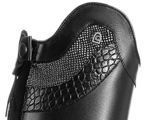 Cavallo Reitstiefel Linus Slim Varano + Caiman, Schuhgröße:4-4.5 H49 W37