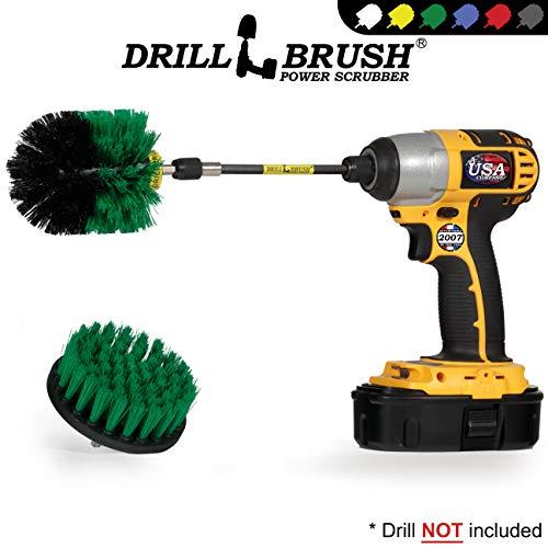 Drill Brush – reinigingsproducten – draaiborstelkit met extension – keukenaccessoires – potten en pannen – gietijzeren skillet – stroomdispensers – voegenreiniger – scrub spoelen, porselein