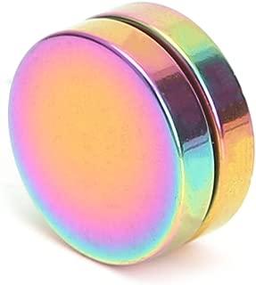 Earrings,NNDA CO 1 Pair Magnetic Stud Earrings For Women Men Boy Metal Magnet Ear Decoration (colorful, 0.31in)