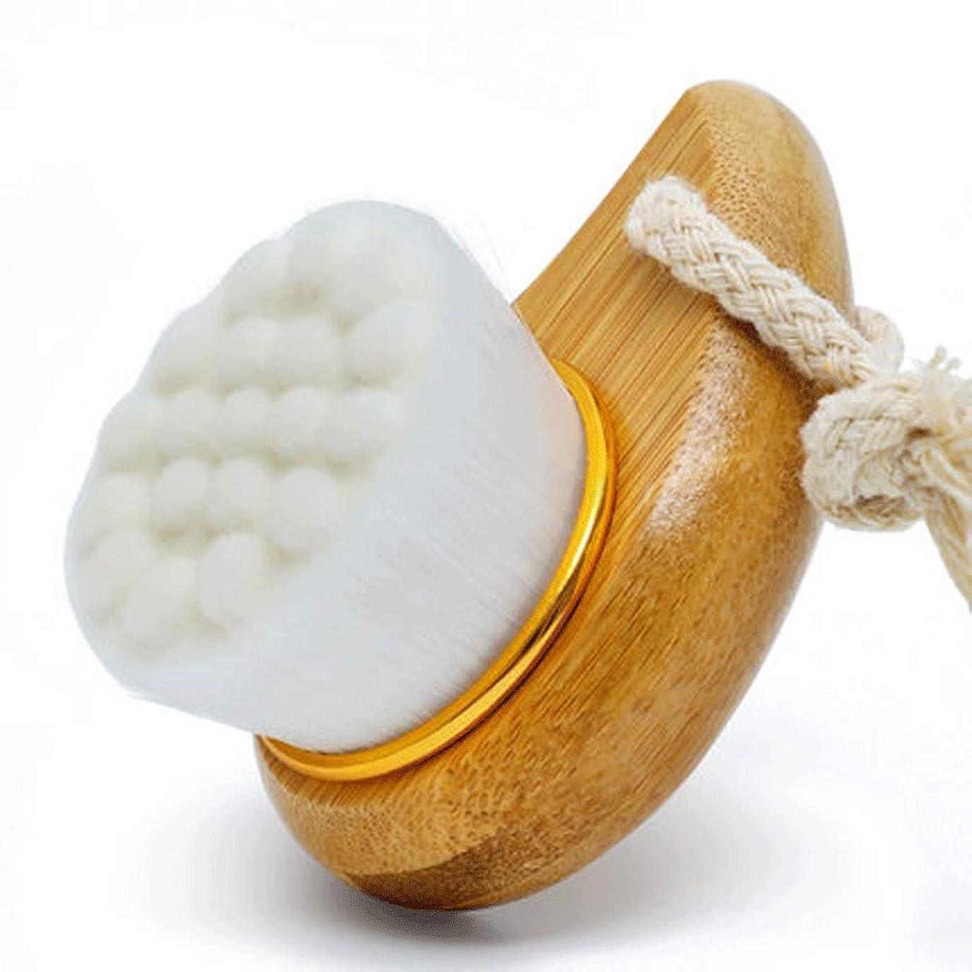 貫通中庭比類なきHEHUIHUI- クレンジングブラシ、防水ディープクレンジングポア、電気剥離、にきび、アンチエイジングクレンジングブラシ(ホワイト) (Color : White)