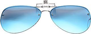 LUFF polarización clip en gafas de sol unisex, anti - Glare UV Proteccion Gafas de sol puede ser volteado apto para conducir la Pesca Senderismo