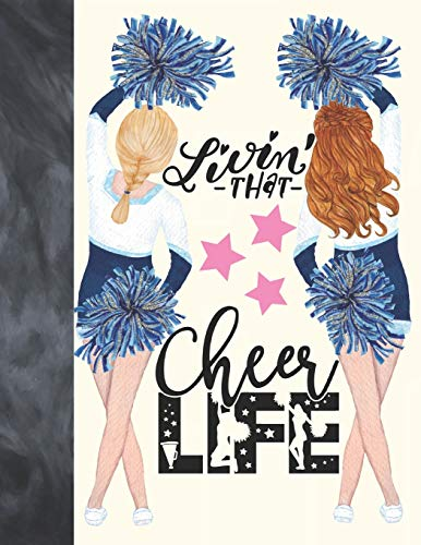 Livin That Cheer Life: Cheerleading Sudoku Puzzle Book Gift For Girls - Easy Beginners Activity Puzzle Book For Those On The Sudoku Puzzle Craze