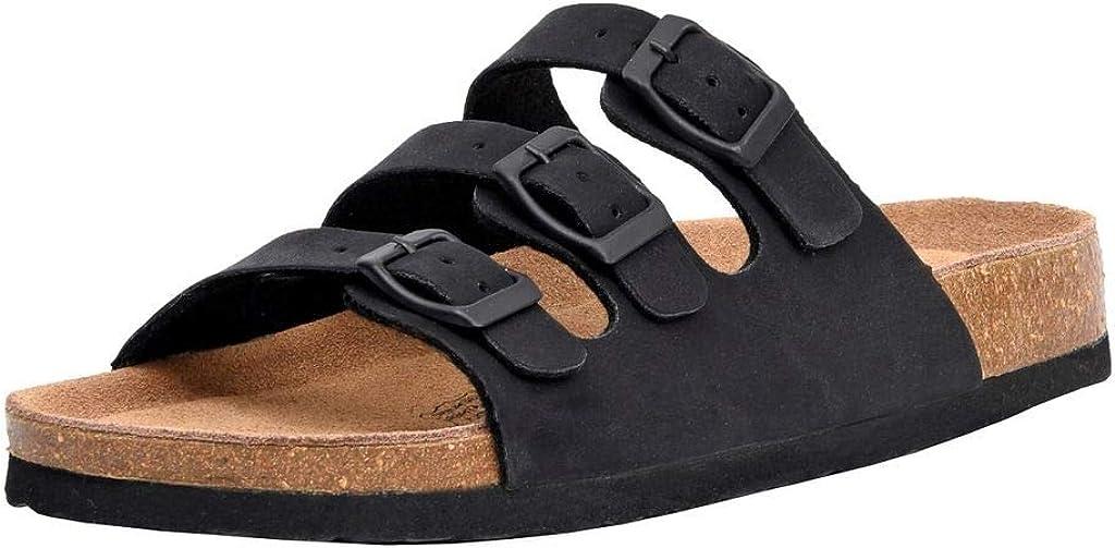 Women's Cushionaire Lela Cork footbed Sandal with +Comfort