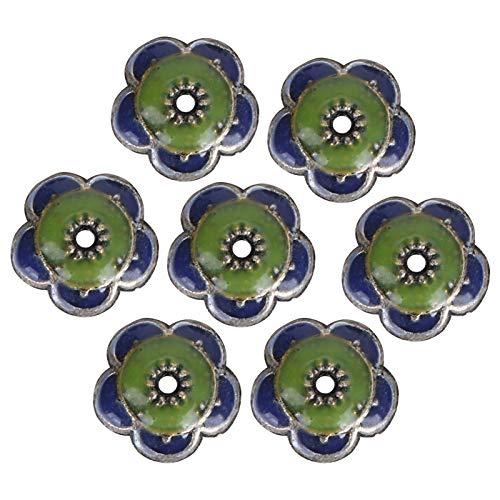 Cuentas de flores Kit pulsera joyería collar hecho a mano artesanías