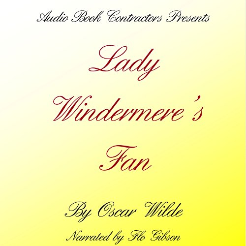 Lady Windermere's Fan audiobook cover art