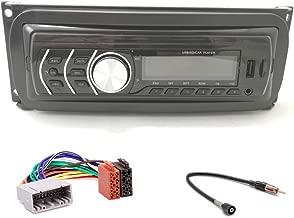 LR Radio Einbauset 1 DIN mit LFB für Chrysler 300M 2002-2004 schwarz