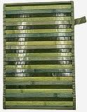 eurostyle - Alfombra de bambú con Reverso Antideslizante Degrade
