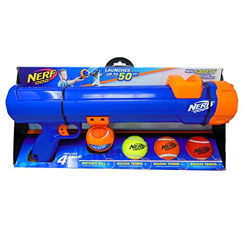 Nerf Dog Medium Compact Tennis Ball Blaster